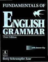 Fundamentals of english grammar third edition part 1 docx