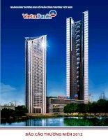 báo cáo thường niên 2012 ngân hàng thương mại cổ phần công thương việt nam vietinbank