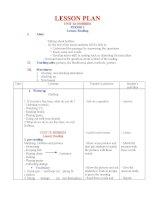 Giáo án  Tiếng Anh 11 CB Bài 12 Reading