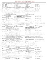 đề thi thử tiếng anh 2014 (2)