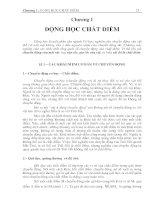 Chương 1: Động lực học chất điểm ppt