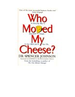 Who Moved My Cheese? pptx