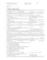 Kiểm tra tiết 50  vật lí 11 Cb 3