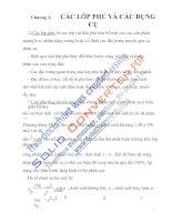 bài giảng môn học quang điện tử và quang điện, chương 3 docx
