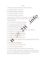 tổng hợp các câu hỏi trắc nghiệm thương mại điện tử - quiz 3