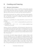 Preservation of fish and meat - Part 9 pdf