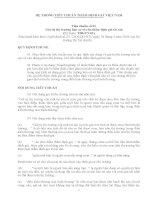 Tiêu chuẩn thẩm định giá VN số 01 - Giá trị thị trường làm cơ sở cho thẩm định giá tài sản pot