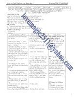 Giáo Án nghề tin học ứng dụng THCS 70 tiết