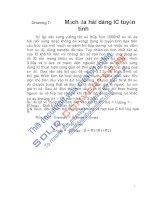 KĨ THUẬT XUNG - SỐ, Chương 7 ppsx