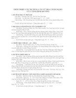 Lịch sử địa phương: tỉnh Bình Dương