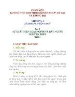 Lịch sử lớp 10 Bài 1 ppsx