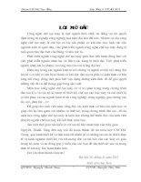 NỘI DUNG THUYẾT MINH và TÍNH TOÁN đồ án môn học CÔNG NGHỆ GIA CÔNG cơ KHÍ chi tiết thuộc nhóm dạngbạc thuyết minh(tiến)
