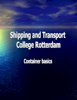 Shipping and Transport College Rotterdam - Container Basic pptx