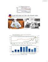Tỷ giá hối đoái ER và  cán cân thanh toán (BOP)