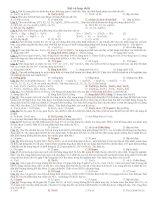 Bài tập sắt và hợp chất