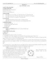giáo án 10 nâng cao 3 cột trọn bộ
