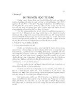 CƠ SỞ DI TRUYỀN CHỌN GIỐNG ĐỘNG VẬT - Chương 2 pdf