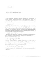 Independent And Stationary Sequences Of Random Variables - Chapter 20 ppsx