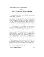 Chương 10: Quản lý và giám sát thị trường chứng khoán doc