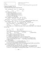 Kiểm tra đại số chương IV