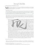 Đề cương bài giảng môn Lý thuyết tài chính Chương 4 pps