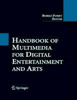 Handbook of Multimedia for Digital Entertainment and Arts- P1 pot