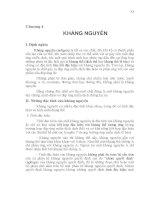 Giáo trình Miễn dịch học thú y - Chương 4 pdf