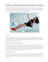 8 điều tuyệt đối không làm khi đang ăn kiêng pot