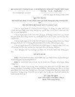 Các tiêu chuẩn KĐCL GD (QĐ 04)