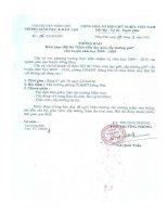 Số: 06/TB-PGDĐT ngày 09/3/2010 Thông báo Khai mạc Hội thi