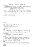 bài tập hóa HC bồi dưỡng hsg 11