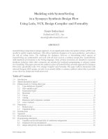 Modeling with SystemVerilogin a Synopsys Synthesis Design FlowUsing Leda, VCS, Design Compiler and Formality