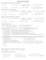 Bài tập chương IV (số phức)