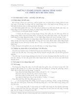 Chương 1: NHỮNG VẤN ĐỀ CƠ BẢN TRONG TÍNH TOÁN VÀ THIẾT KẾ CHI TIẾT MÁY pps