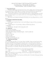 Giáo án NGLL8-chủ điểm tháng 3