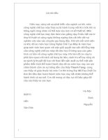 NỘI DUNG THUYẾT MINH và TÍNH TOÁN đồ án môn học CÔNG NGHỆ GIA CÔNG cơ KHÍ  chi tiết dạng càng nguyen văn đức