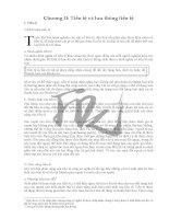 Đề cương bài giảng môn Lý thuyết tài chính Chương 2 ppt