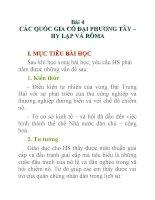 Lịch sử lớp 10 Bài 4 potx