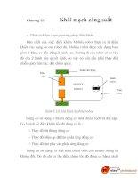 thiết kế phương pháp điều khiển robot tự hành dựa trên cơ sở logic mờ, chương 12 pps