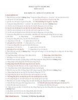 185 Bài tập Trắc nghiệm Vật lí 12 - Ôn thi ĐH pptx