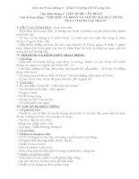 Giáo án NGLL6-Chủ điểm tháng 3