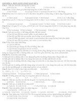 Trắc nghiệm Este - Lipit - chất giặt rửa pdf