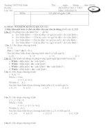 ĐỀ KIỂM TRA TIN HỌC 8 HK2 LẦN 1
