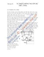 thiết bị bảo vệ và tự động hóa trong sản xuất, chương 18 ppsx