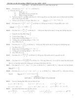 Tài liệu ôn thi tốt nghiệp-Đại học toán 2010