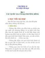 Lịch sử lớp 10 Bài 3 pot