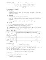 Ma trận đề kiểm tra 1 tiết nghề kì 2