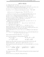 Tổng hợp các bài toán BDHSG lớp 9 (Có đáp án).