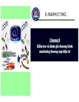 chương 8  kiếm tra và đánh giá chương trình marketing thương mại