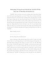 Bình giảng 20 dòng thơ mở đầu bài thơ Việt Bắc để thấy được thơ Tố Hữu đậm đà tính dân tộc pdf